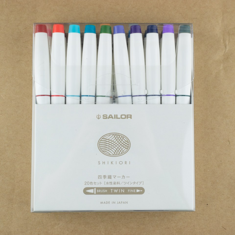Sailor Shikiori Brush Pens