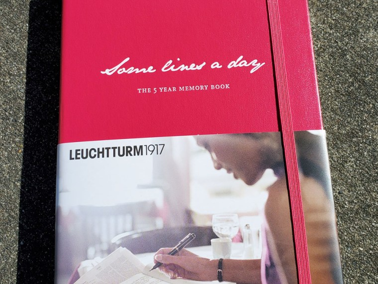 Notebook Review: Leuchtturm 1917 Some Lines a Day