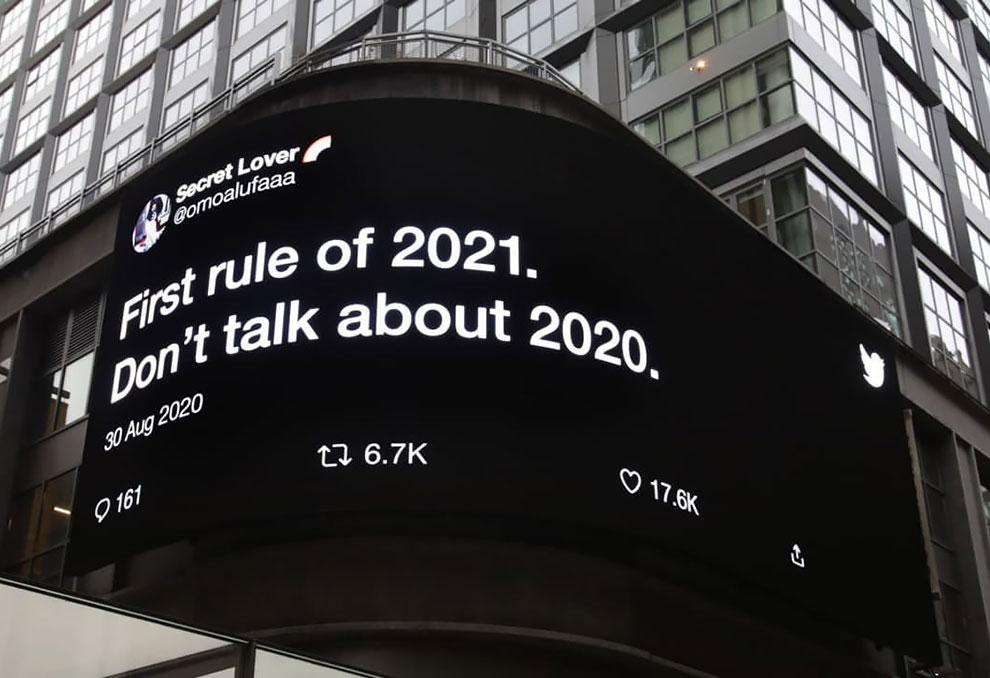 Twitter Billboard 2020