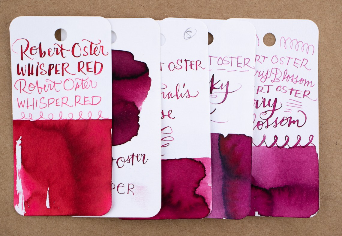 Autralis Rose vs other Robert Oster reds