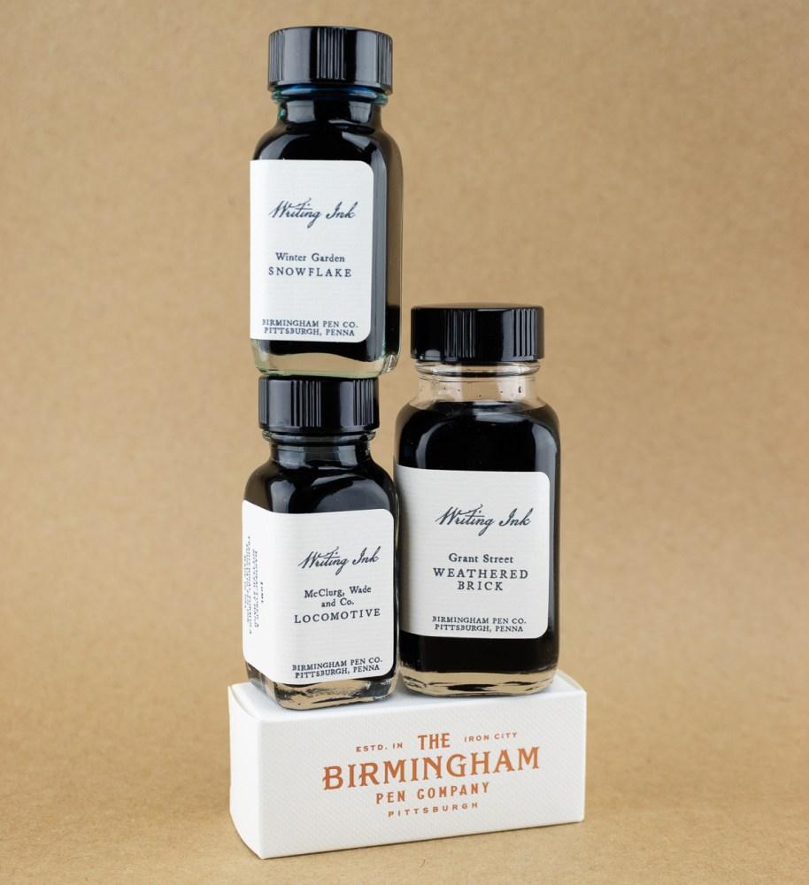 Birmingham Pen Co Bottles