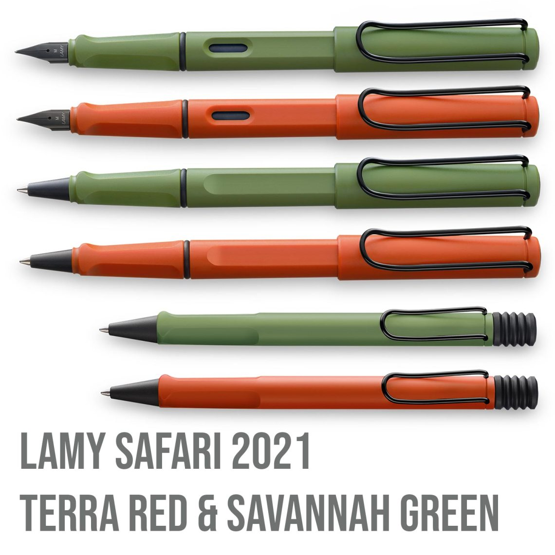 Savannah Green and Terra Red