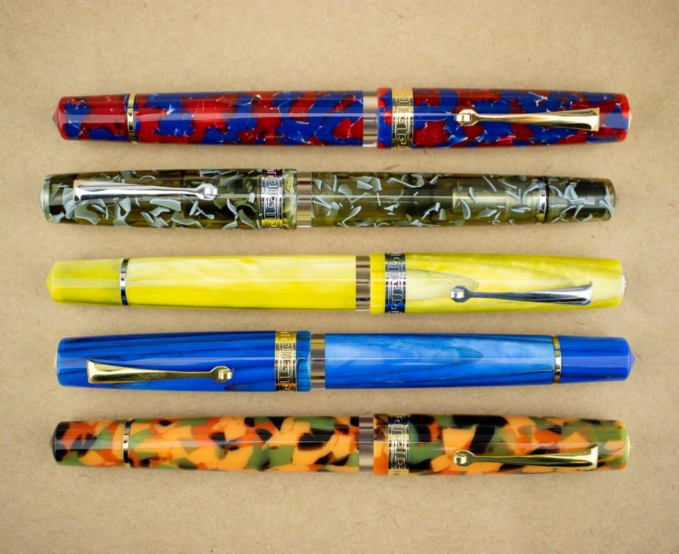 Fountain Pen Review: Armando Simoni Club ASC Studio (Set of 5)