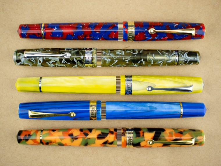 Fountain Pen Review: Armando Simoni Club ASC Studio (Set of 5)
