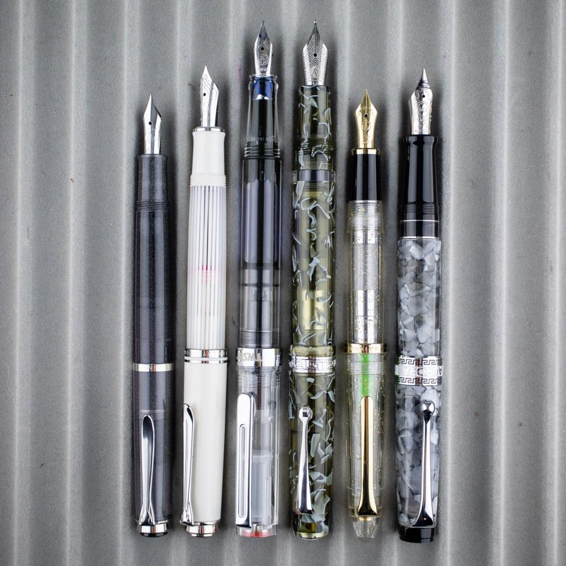 ASC Studio pens - size Comparison-