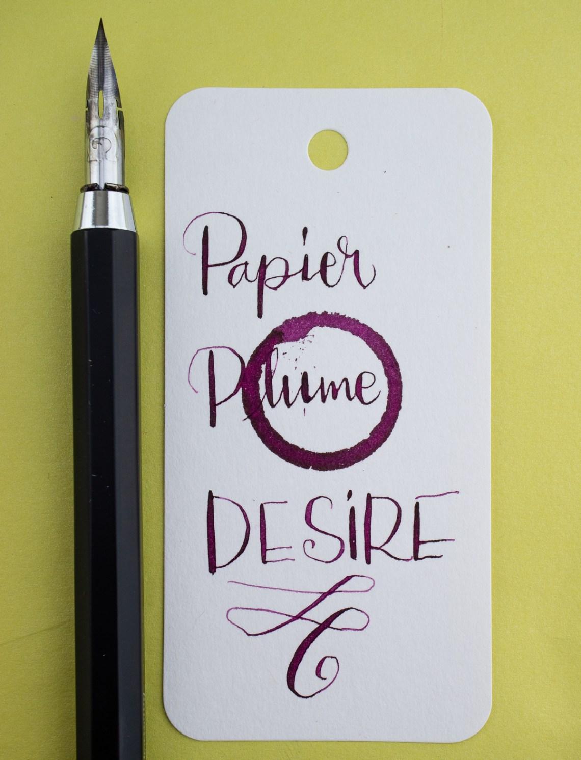 Papier Plume Desire