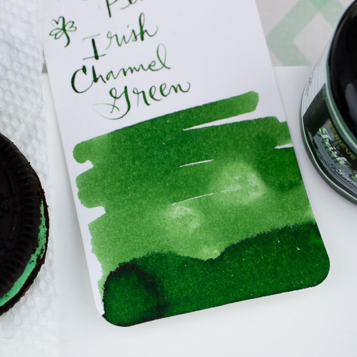 Papier Plume Irish Channel Green