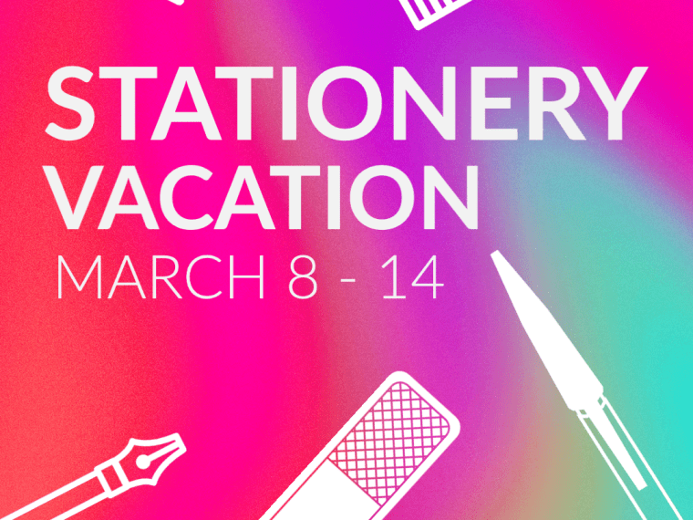 Link Love: Stationery Vacation