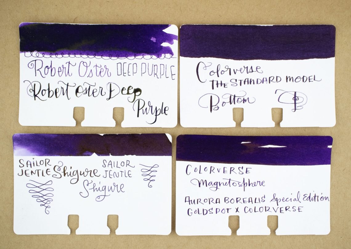 Colorverse Standard Model Strange Ink Comparison