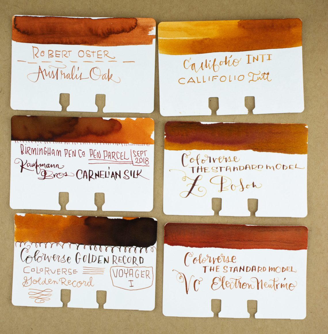 Colorverse Standard Model Z Boson & Electon Neutrino Ink Comparisons