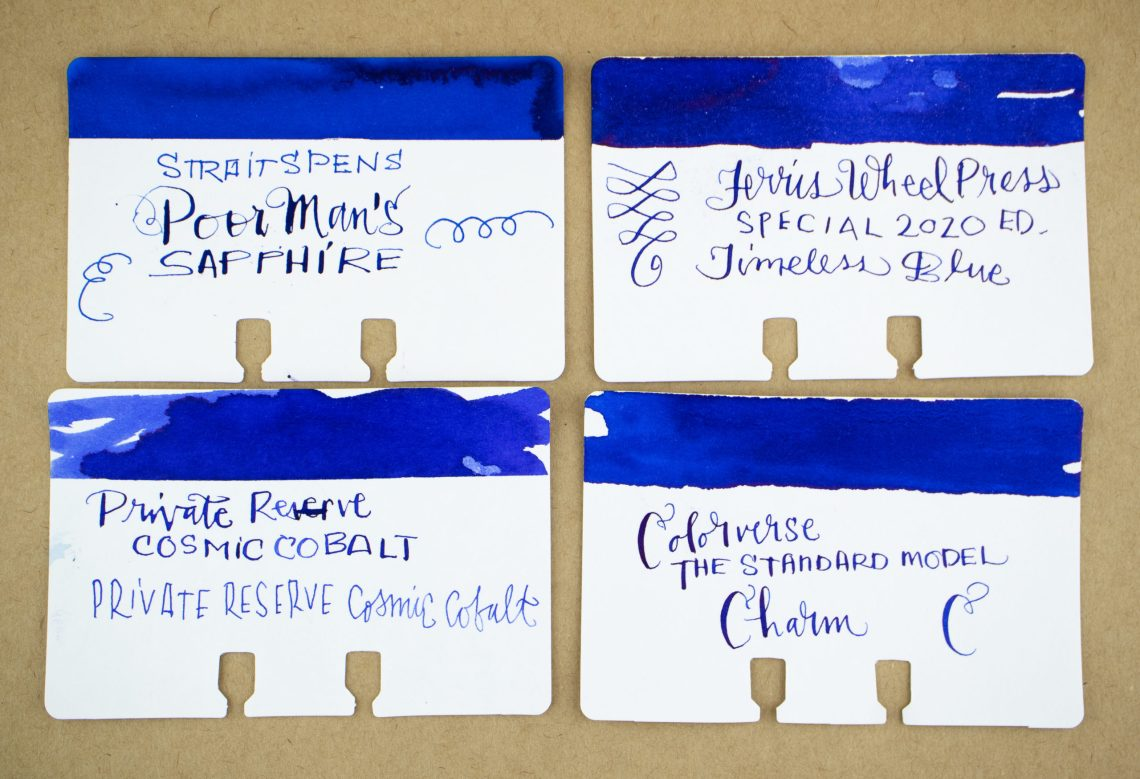 Colorverse Standard Model Charm Ink Comparison