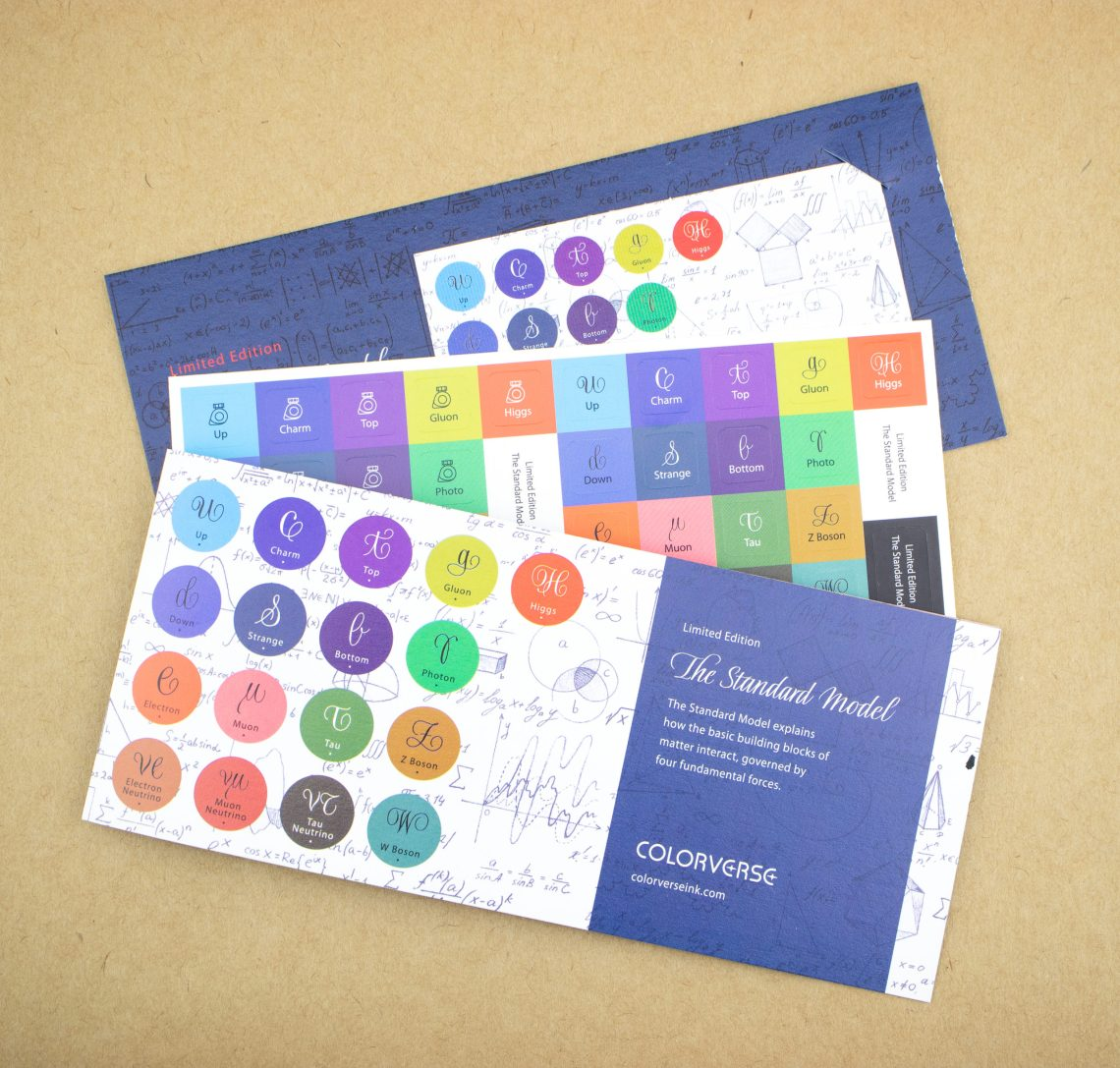 Colorverse Standard Model Packaging Material