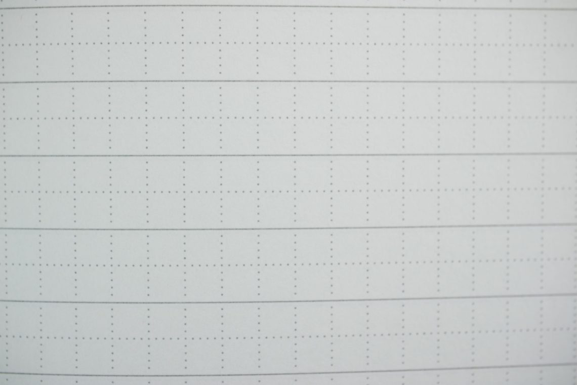 Lamy Notebook close-up of line/grid
