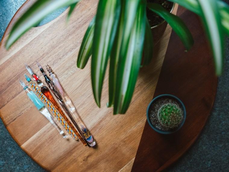 Dipping Into Glass Nib Pens