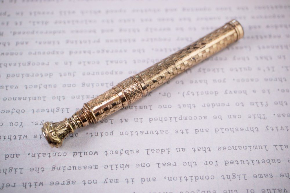 Vintage Telescoping Dip Pen