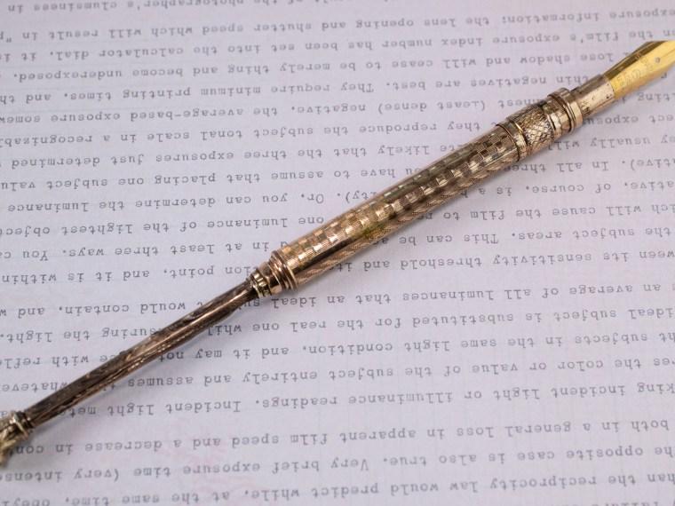 Vintage Find: Telescoping Dip Pen