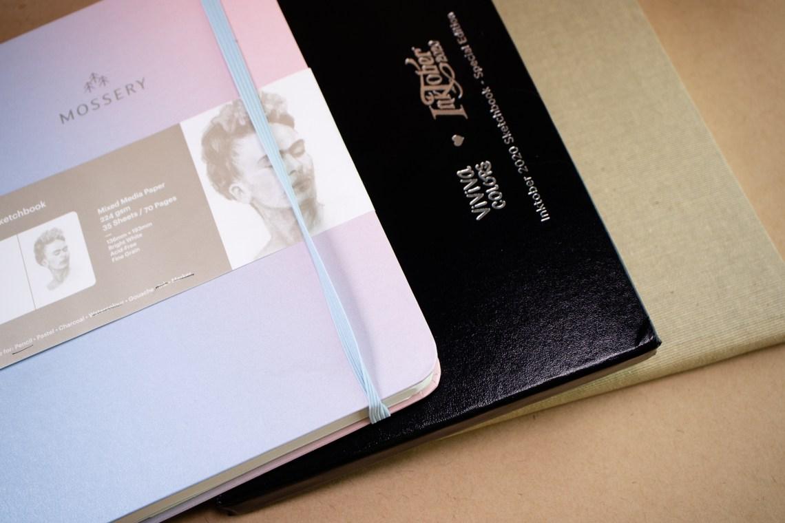 A5-ish sketchbooks