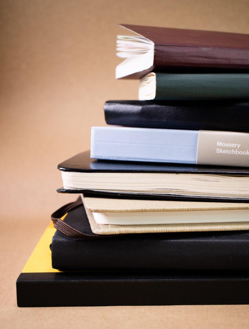 Eight sketchbooks reviewed