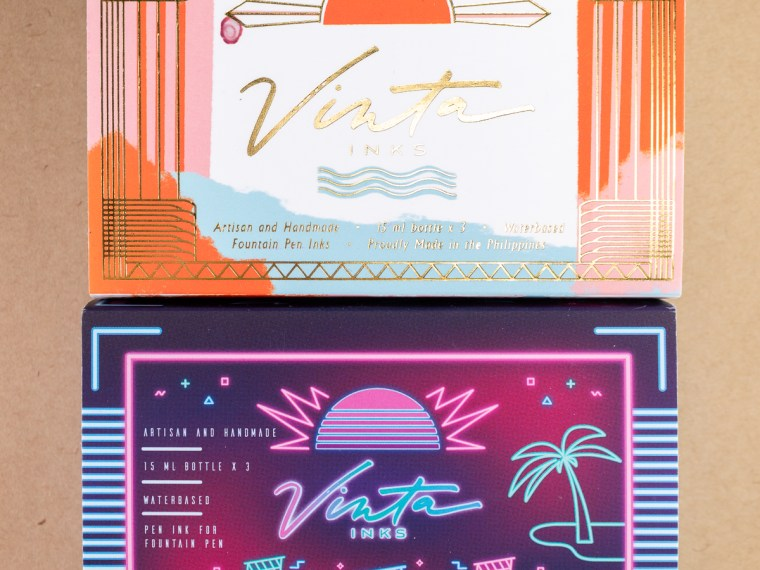Ink Review: Vinta Inks Collections (Neon & Vintage)