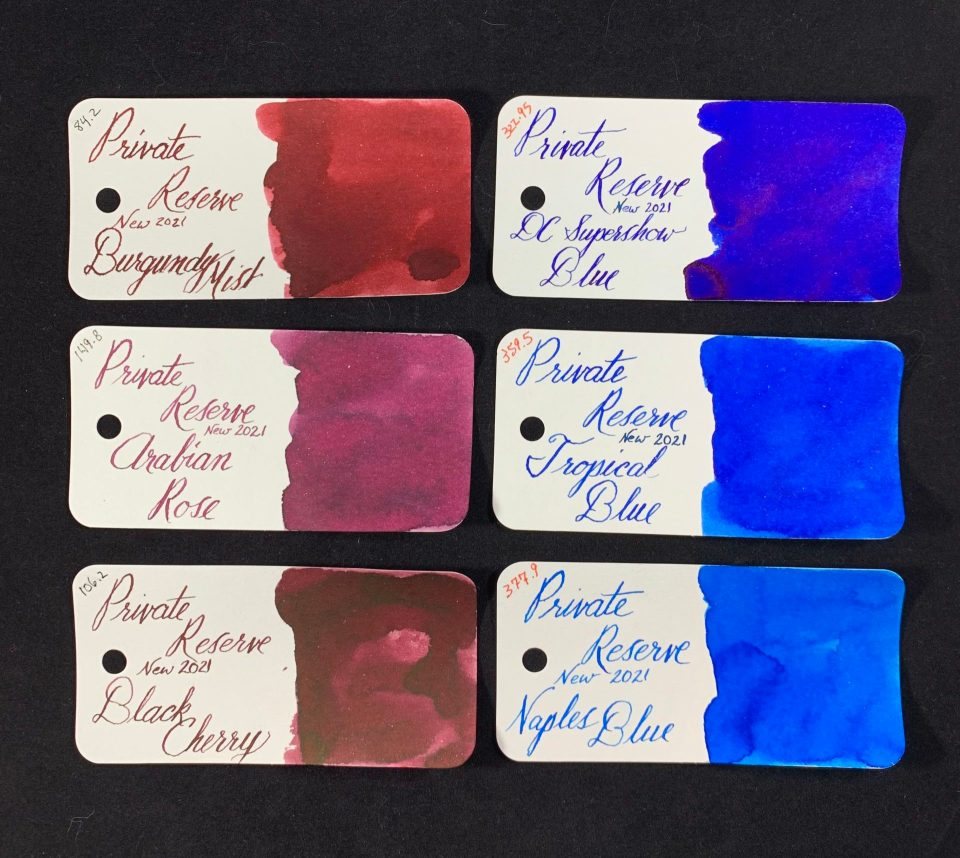 Ink Review: Private Reserve Old vs New