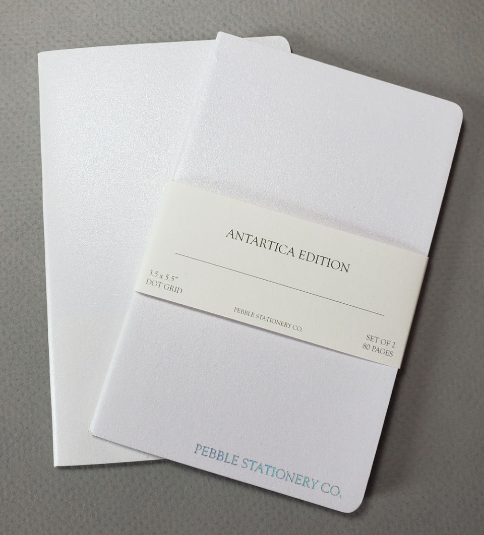 Notebook Review: Pebble Stationery Co. Antartica Edition