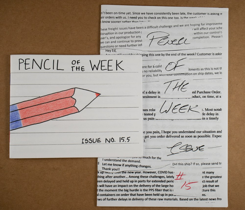 Pencil of the Week
