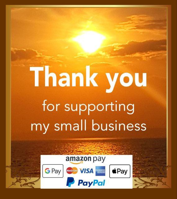 Thank you for supporting my small business payments