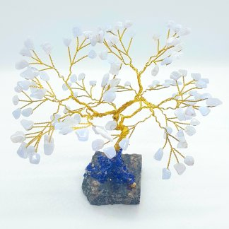Blue Lace Agate Gem tree large