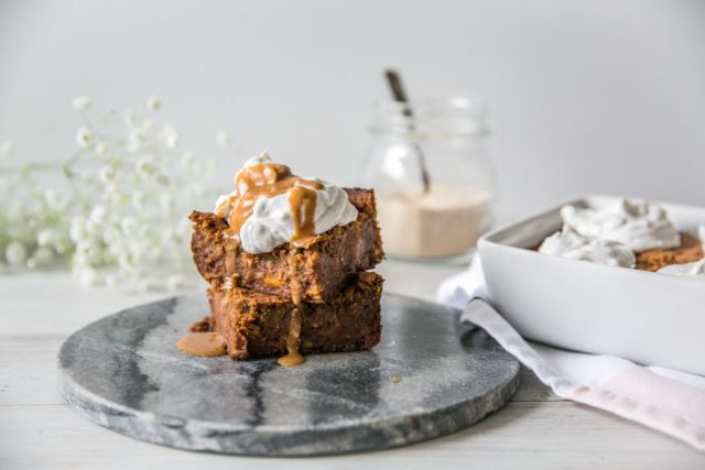 Chickpea Blondies with Lucuma