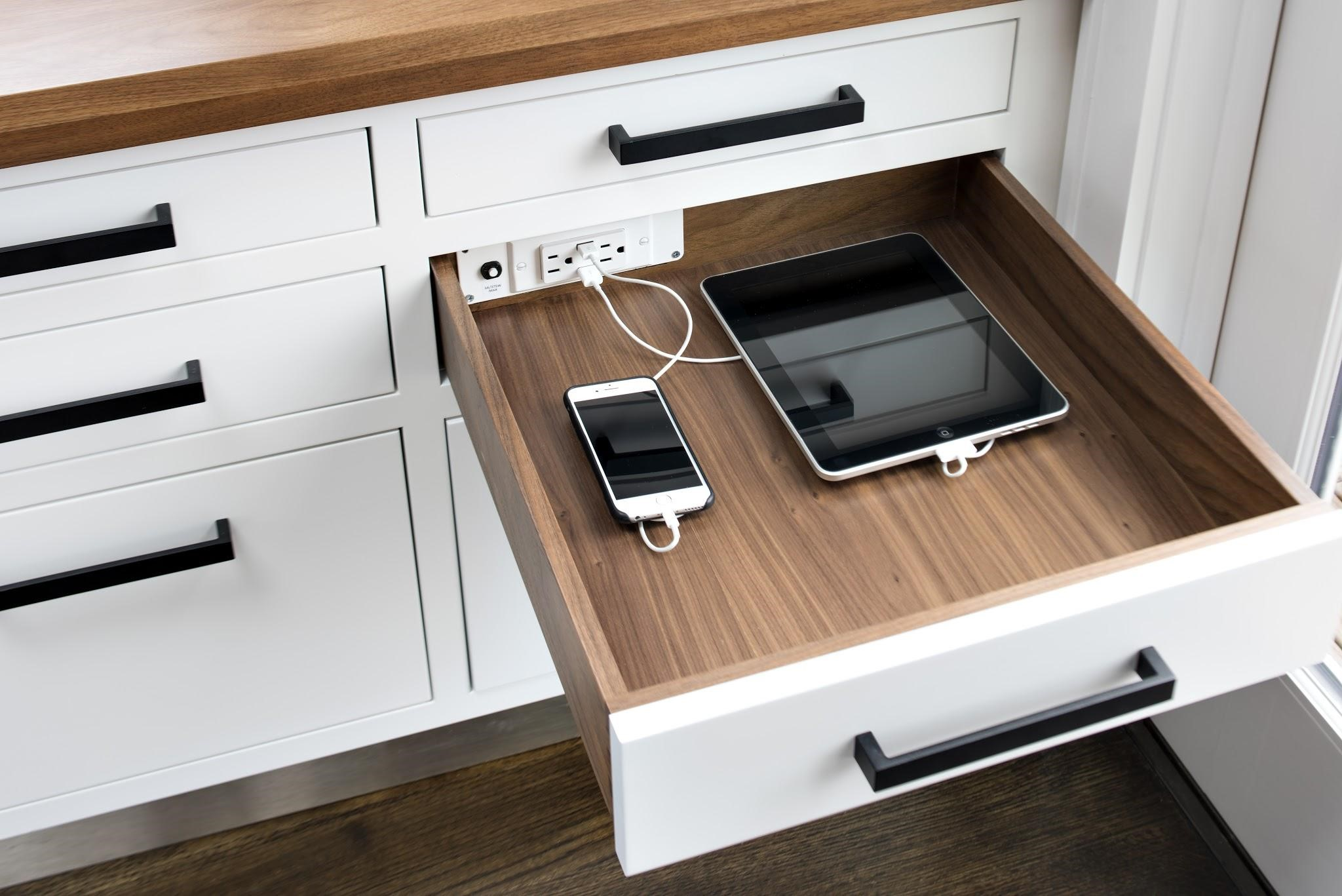 kitchen electrical outlets cabinet software the 5 smartest solutions your cabinets need now