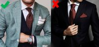 Style NOPE!  The Matching Tie And Pocket Square Edition