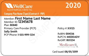 New Medicare ID cards for 2020 | WellCare