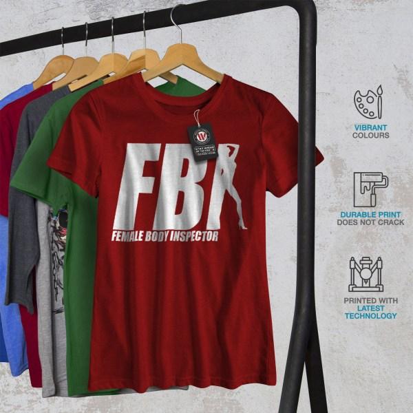 Fbi Offensive Joke Funny Women T-shirt Wellcoda