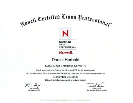 Novell Certified Linux Professional: SuSE Linux Enterprise Server 10