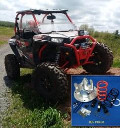 dalton adjustable clutch kit 2016 polaris xp1000 4 seat and highlifter [ 1000 x 1000 Pixel ]