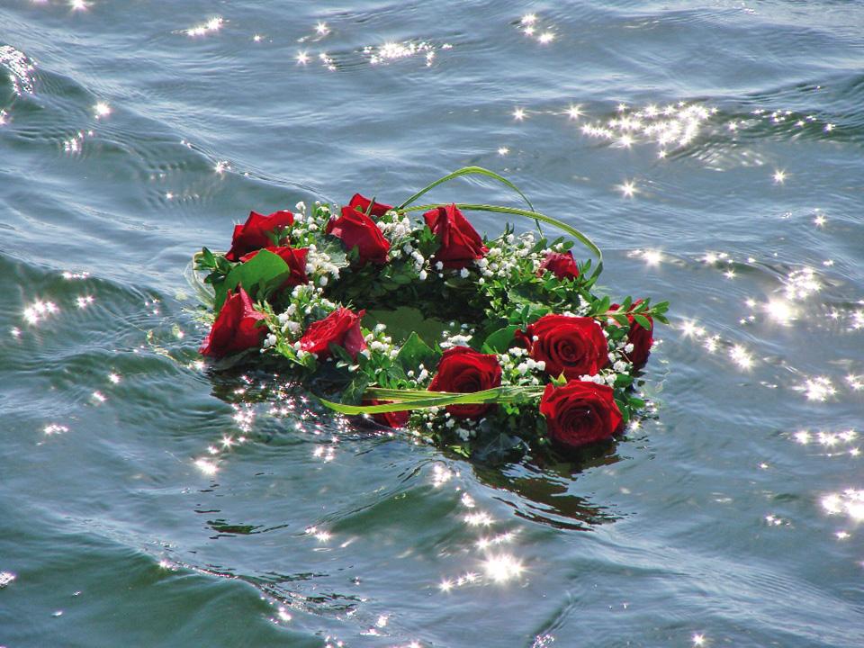 Seebestattung  Bestattungen Wellers