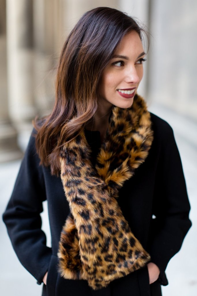 Top 4 Holiday Trends to wear year after year: faux fur featured by top Pittsburgh fashion blog, Wellesley & King