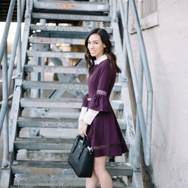 ways to style-bell sleeve dress-wellesley and king-@wellesleynking-pittsburgh blogger