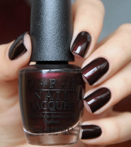 5 Best Dark Nail Colors for Fall and Winter featured by top Pittsburgh fashion blog Wellesley & King