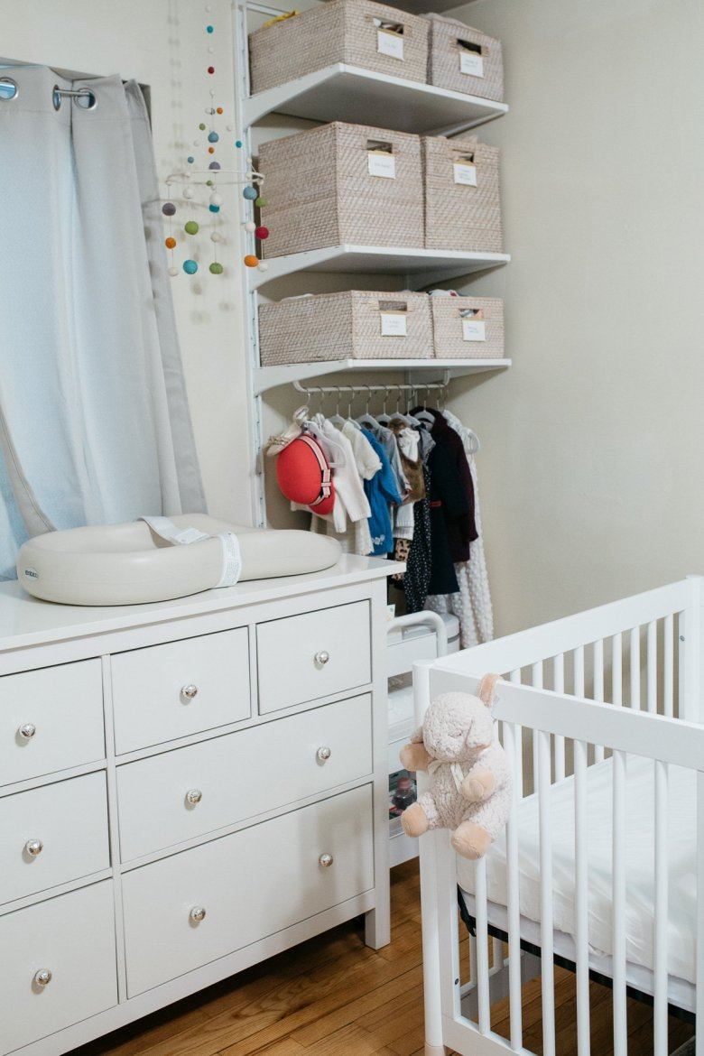 Shared Nursery Organization Ideas For A Small Apartment Wellesley King