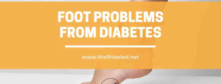 foot problems from diabetes