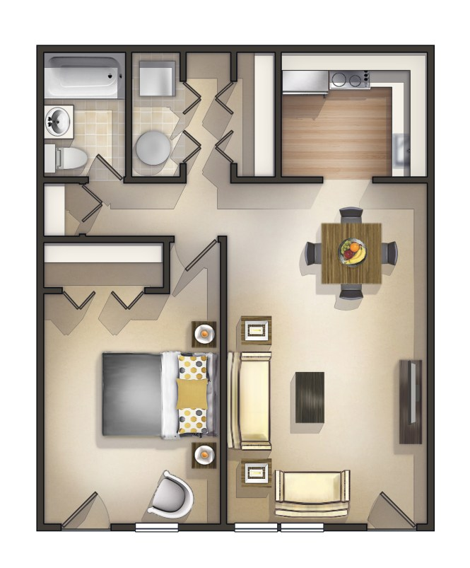 One Bedroom Apartment Manchester Homswet
