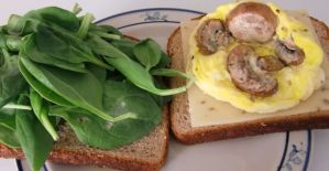 Weekly Recipe – Egg & Spinach Whole Grain Goodness