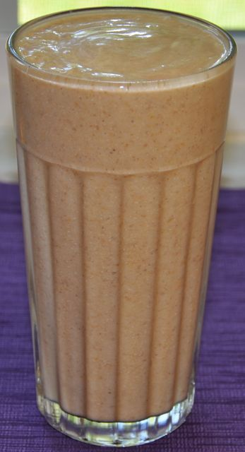 Apricot Banana Chia Smoothie