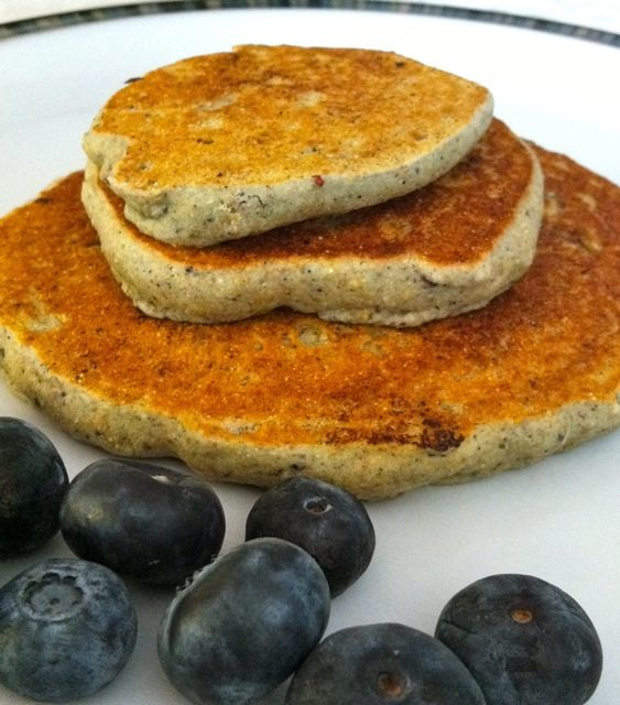 Recipe – Blueberry Multigrain Pancakes