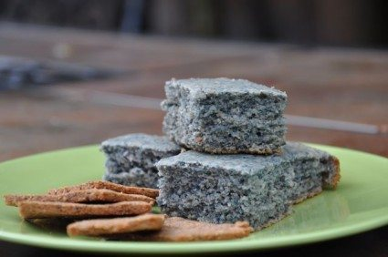 Recipe - Corn Bread and Crackers from Blue Corn Meal
