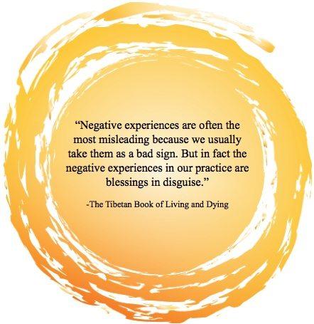 Inspiration - Negative Experiences