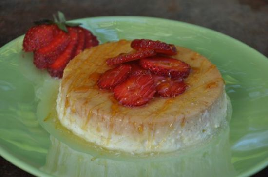 Yogurt Vanilla Bean Flan - WellJourn.org
