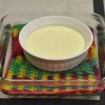 Yogurt Vanilla Flan_Water Bath