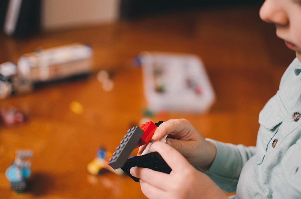 self-directed-play-Montessori preschool in Winnetka-Little Wonders Montessori One